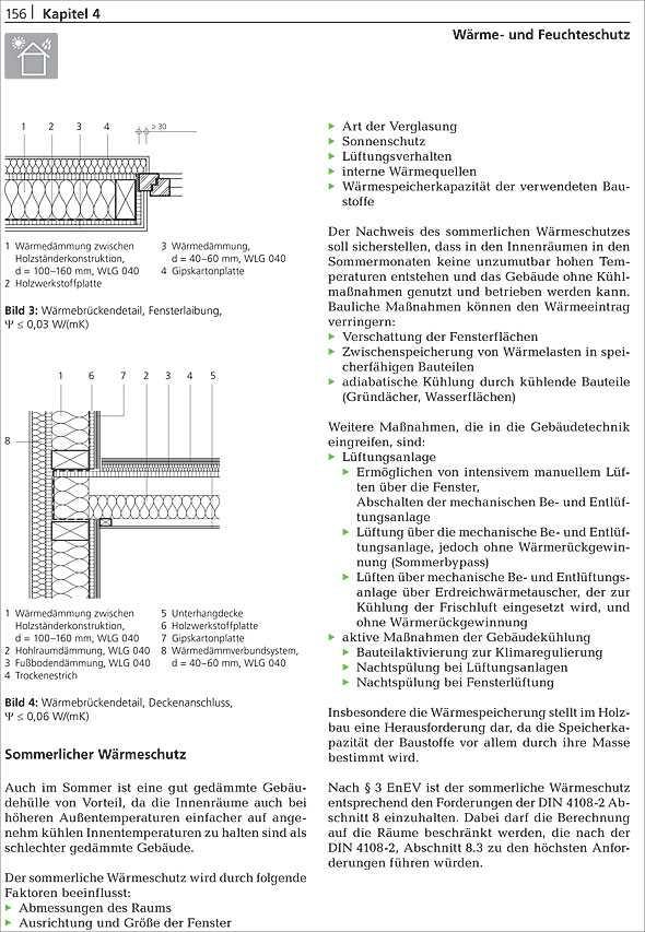 Holzskelettbau detail  Holzbau: Konstruktion - Bauphysik - Projekte | medienservice ...