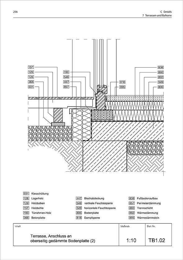 standard detail sammlung neubau medienservice architektur und bauwesen. Black Bedroom Furniture Sets. Home Design Ideas
