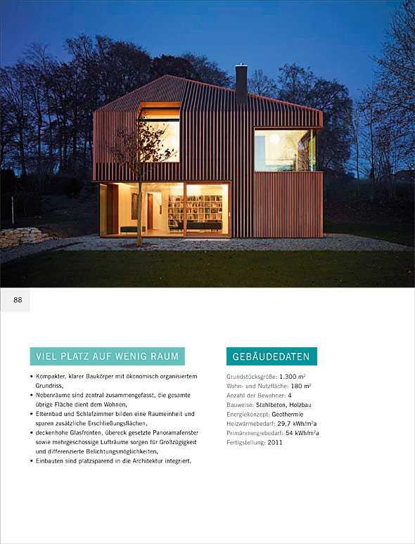 kleine h user gro e wohnarchitektur medienservice. Black Bedroom Furniture Sets. Home Design Ideas