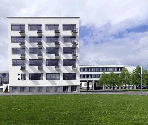 Bauhaus architektur 1919 1933 medienservice architektur for Bauhaus architektur heute