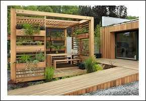 holz und stein im garten – reimplica, Garten und Bauen