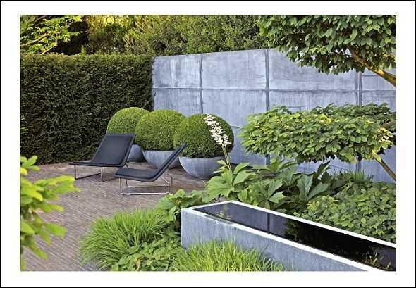 design mit holz stein und metall medienservice. Black Bedroom Furniture Sets. Home Design Ideas
