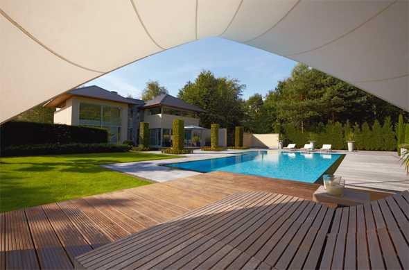 moderne gartenarchitektur | medienservice architektur und bauwesen - Gartenarchitektur