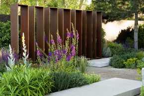 Gartengestaltung Ideensichtschutz Metall Größten Bild Und Sichtschutz Im  Garten Metalltrennwand