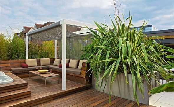 dachterrassen und balkone medienservice architektur und bauwesen. Black Bedroom Furniture Sets. Home Design Ideas