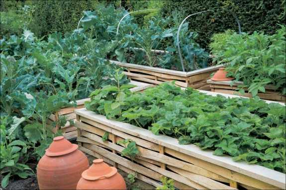 Gartengestaltung mit hochbeet medienservice architektur for Gartenbeispiele gestaltung