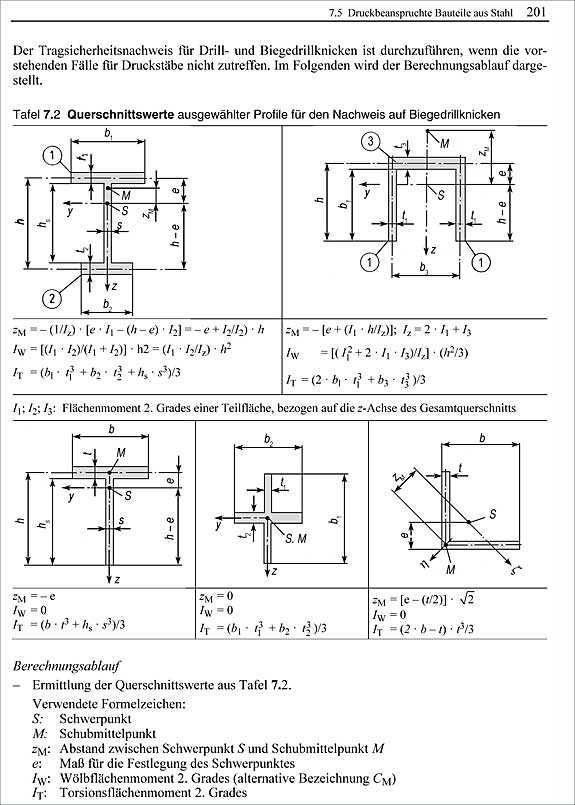 Architekturfachbuch lohmeyer baustatik 2 for Statik formelsammlung