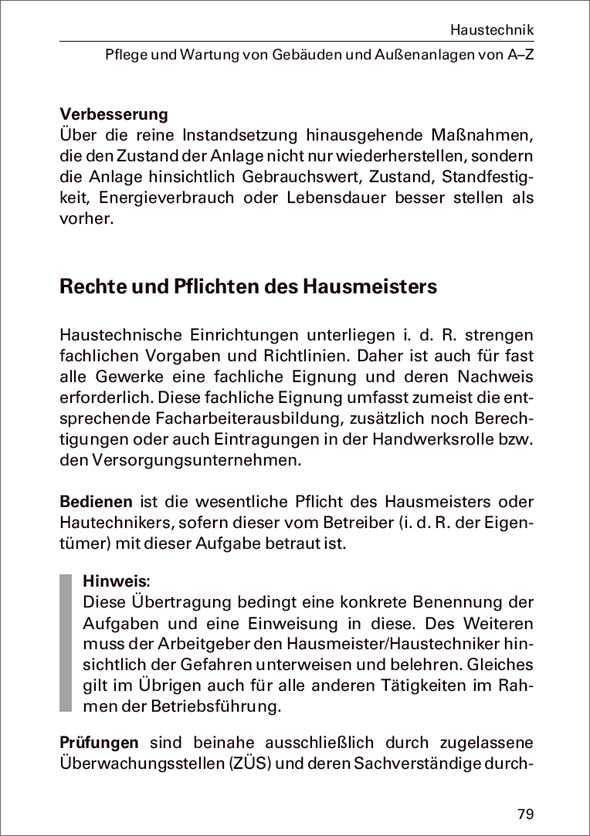 Groß Pflichten Des Hausmeisters Werden Fortgesetzt Fotos - Beispiel ...